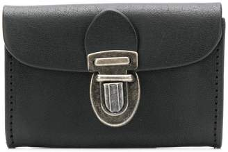 Ann Demeulemeester push-lock purse