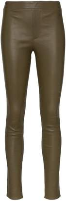 Helmut Lang skinny leather leggings
