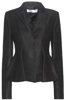 Victoria Beckham Virgin wool-blend peplum blazer