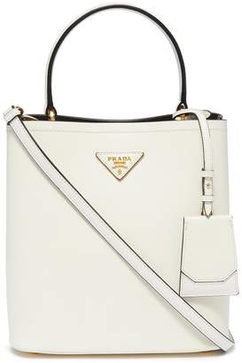 Prada White Leather Handbags - ShopStyle 77c12847ae3b5