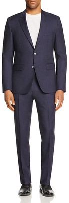 HUGO Solid Regular Fit Suit $795 thestylecure.com