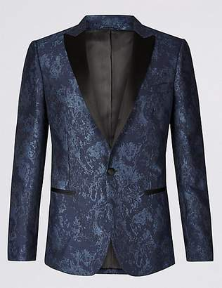 Limited Edition Slim Fit Patterned Jacket