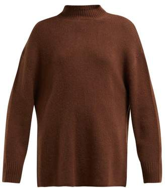 Roche Ryan Oversized Cashmere Sweater - Womens - Brown