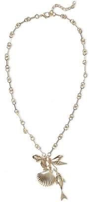 Noir 14-karat Gold-plated Necklace
