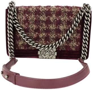 Chanel Boy tweed crossbody bag