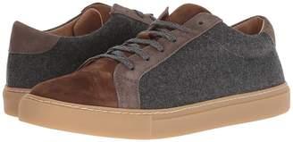 Eleventy Suede/Flannel Sneaker Men's Shoes