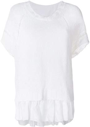 P.A.R.O.S.H. knitted layered top