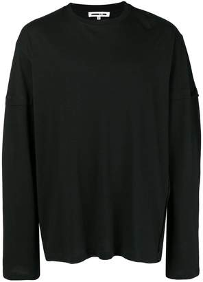 McQ logo print long sleeved T-shirt