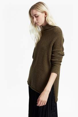Flossy French Connenction Aya Funnel Neck Sweater