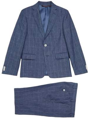 Michael Kors Two-Piece Linen Suit