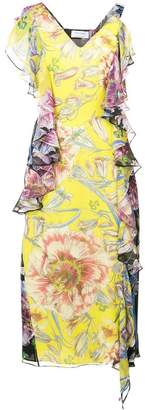 Prabal Gurung floral shift dress