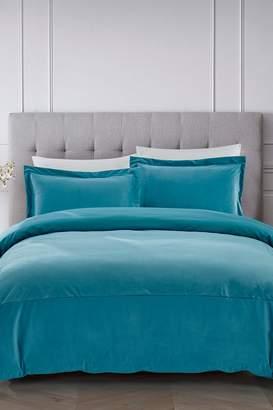 California Design Den by NMK Luxury French Velvet Comforter Set - Spa
