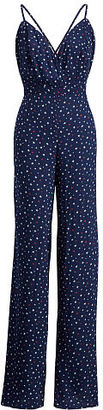 Ralph Lauren Denim & Supply Star-Print Open-Back Jumpsuit $145 thestylecure.com
