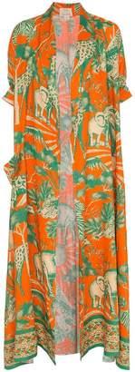 Chufy desta linen robe