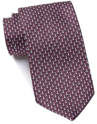 Ermenegildo Zegna Silk Patterned Tie