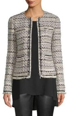 Lafayette 148 New York Benji Tweed Jacket