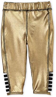 Kapital K (Infant Girls) Gold Metallic Leggings