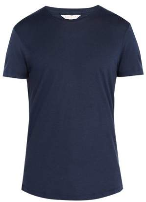 Orlebar Brown Ob T Merino Wool T Shirt - Mens - Navy