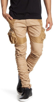 American Stitch Ruched Contrast Cargo Pant $115 thestylecure.com