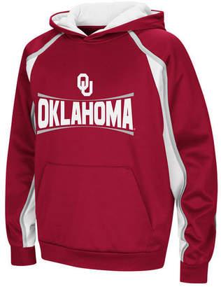 Colosseum Oklahoma Sooners Poly Pullover Hoodie, Big Boys (8-20)