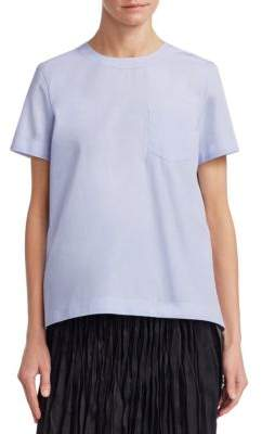 Sacai Cotton Poplin Top