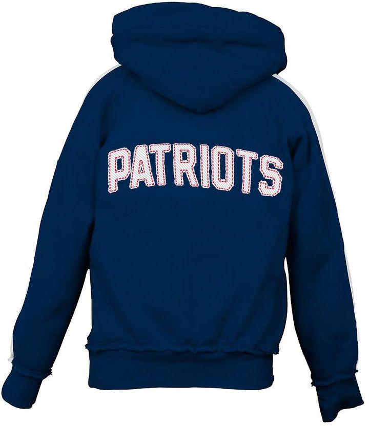 Reebok new england patriots hoodie - girls' 7-16