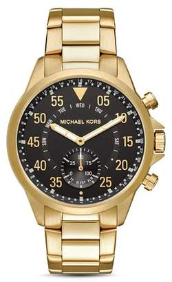 Michael Kors Gage Gold-Tone Hybrid Smartwatch, 45mm