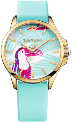 Juicy Couture Women's Jetsetter Casual Watch $145 thestylecure.com