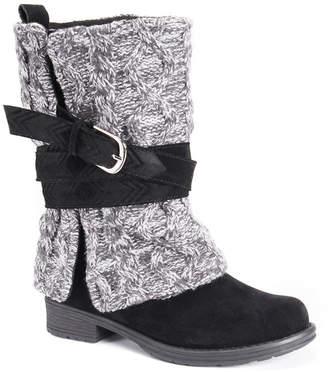 Muk Luks Bessie Womens Water Resistant Winter Boots