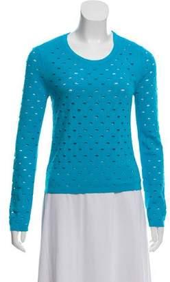 Rag & Bone Long Sleeve Cutout Sweater