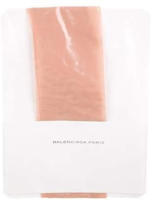 Balenciaga Woven Tights Tan Woven Tights