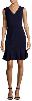 Nanette Lepore Nanette V-Neck Shift Dress