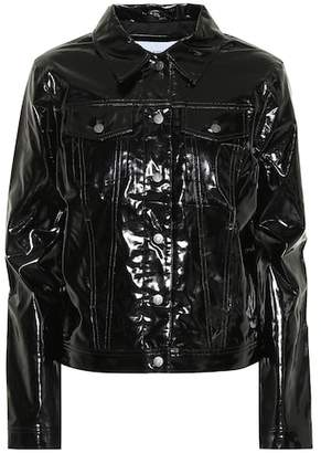 Calvin Klein Jeans Faux patent leather jacket