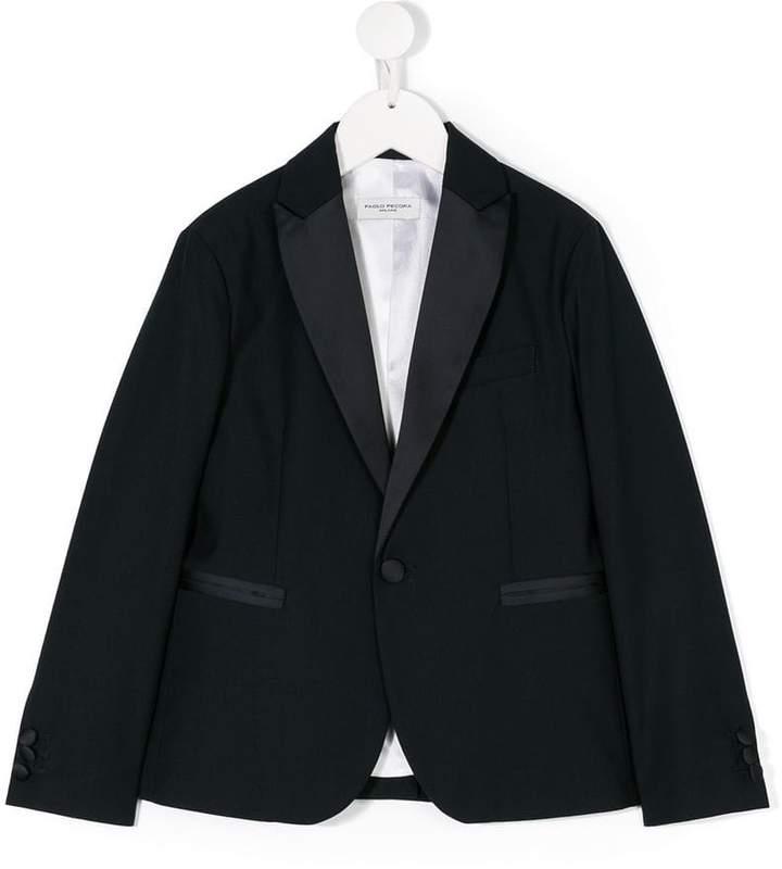 Paolo Pecora Kids classic tuxedo jacket