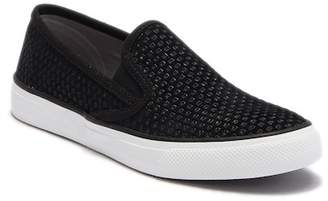 Sperry Seaside Embossed Suede Slip-On Sneaker