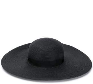 bce14832e348e7 Black Wide Brim Hat - ShopStyle