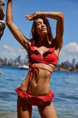 Beach Riot Ruffle Chloe Bikini Bottom