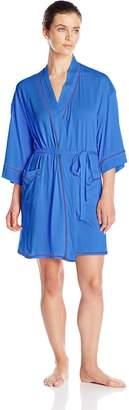 Josie Natori Josie by Natori Women's Essentials Wrap Robe