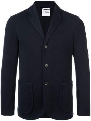 Aspesi woven casual blazer