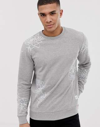 ONLY & SONS Sweatshirt With All Over Print