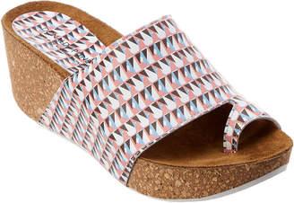 Donald J Pliner Ginie Leather Wedge Sandal