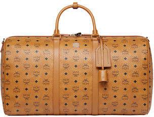 MCM Men's Traveler Visetos XL Weekender Duffel Bag