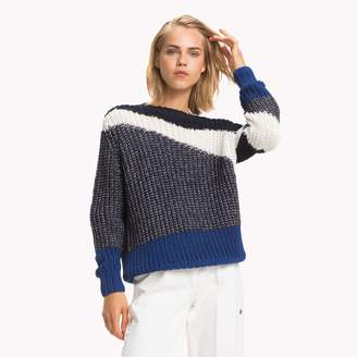 Tommy Hilfiger Abstract Colorblock Sweater