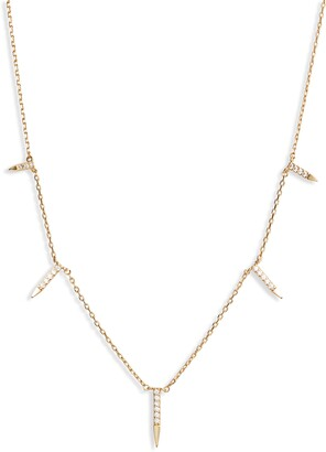 Kristin Cavallari Uncommon James by Dagger Charm Station Necklace