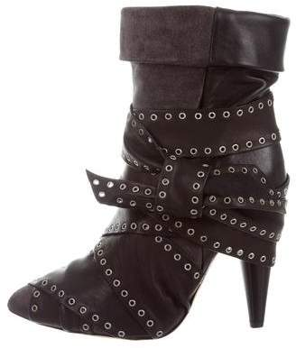 Isabel Marant Pointed-Toe Ankle Boots