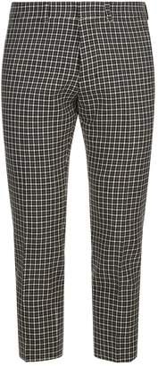Ami Paris Crop Check Trousers
