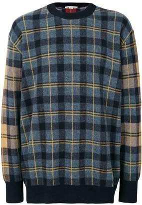 Stella McCartney plaid sweater