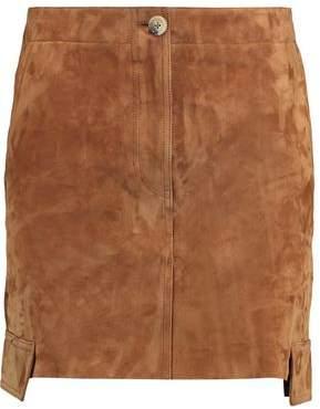Helmut Lang Suede Mini Skirt