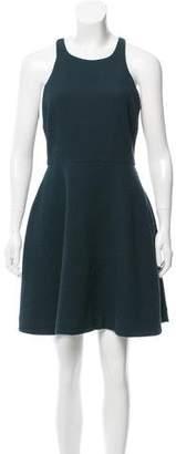 Elizabeth and James Textured Mini Dress