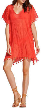 Seafolly NEW Amnesia Kaftan Red